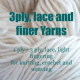 3 ply &  finer yarns